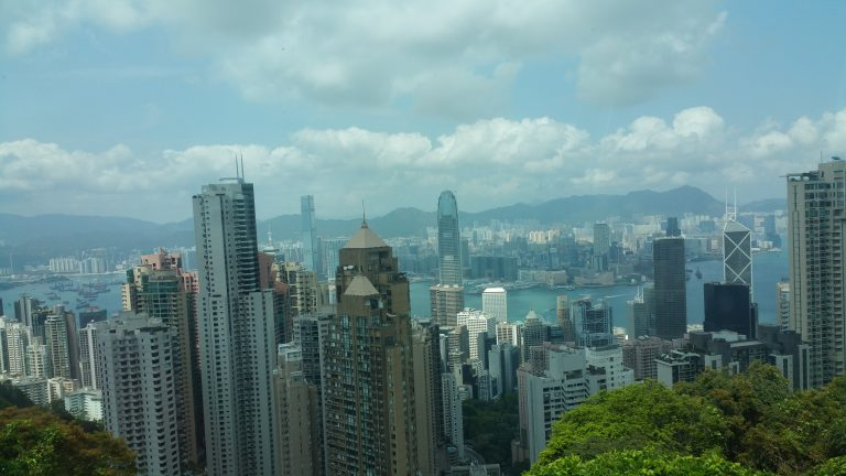 PEAK TRAM VICTORIA PEAK HONG KONG