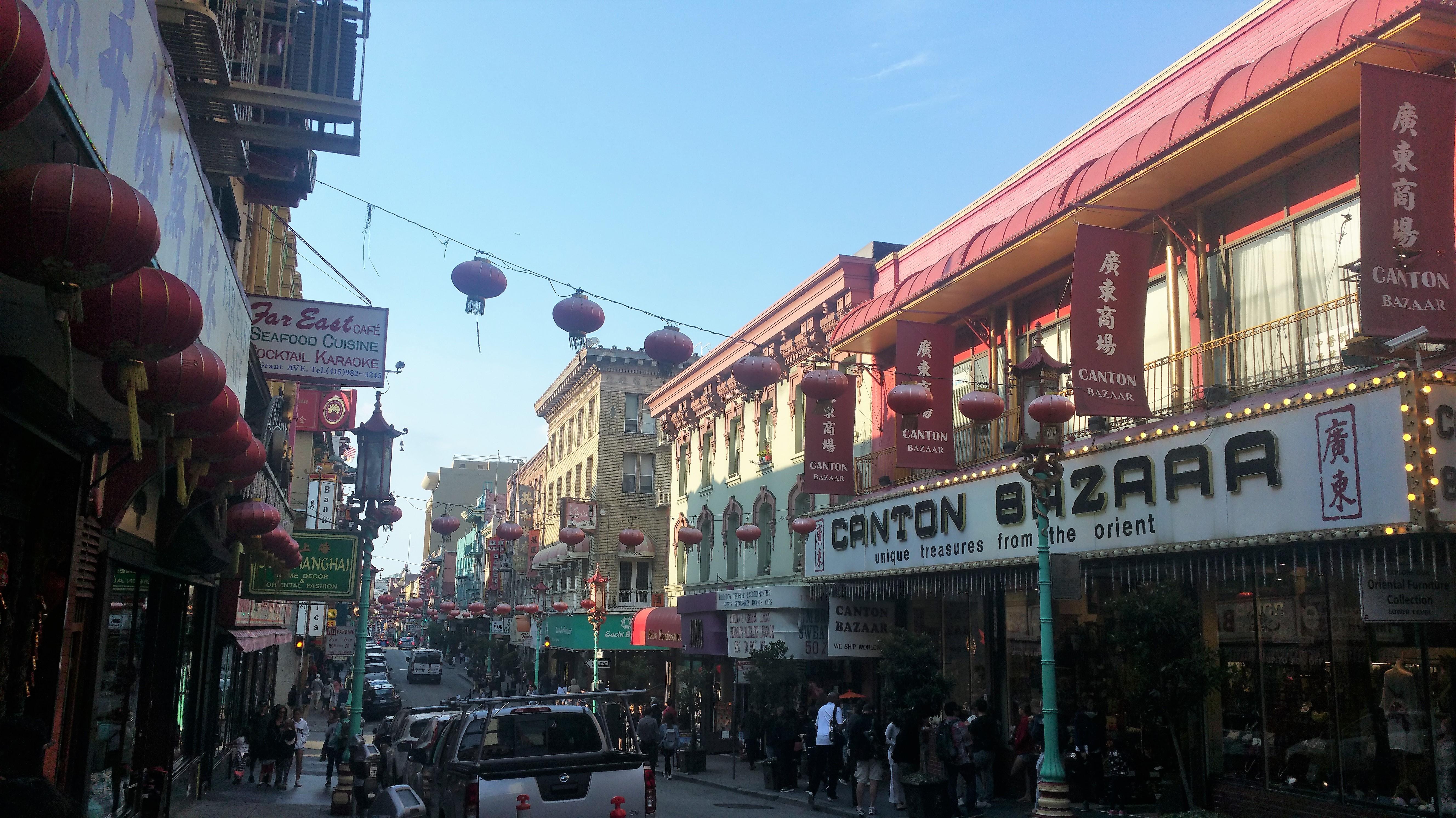 CHINA TOWN SAN FRANCISCO CALIFORNIA USA