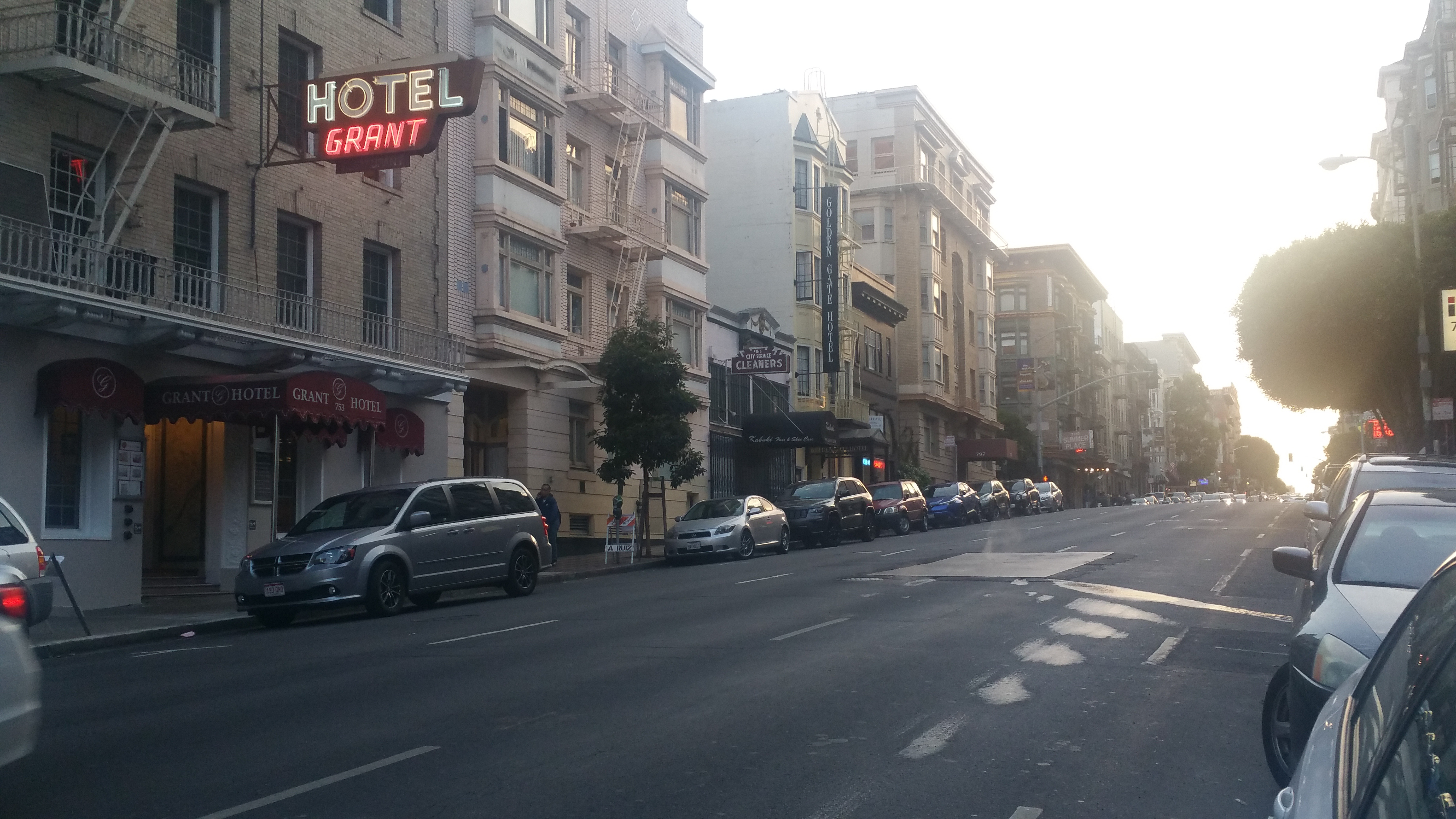 HOTEL GRANT SAN FRANCISCO CALIFORNIA UNION SQUARE