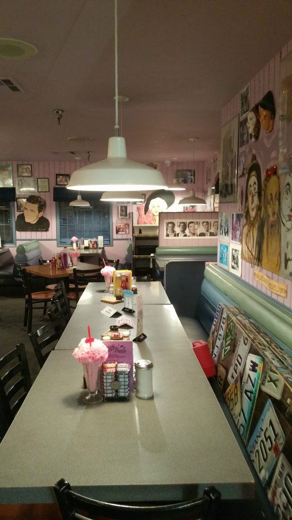 PEGGY SUE DINNER ROUTE 66 COSTA OESTE USA