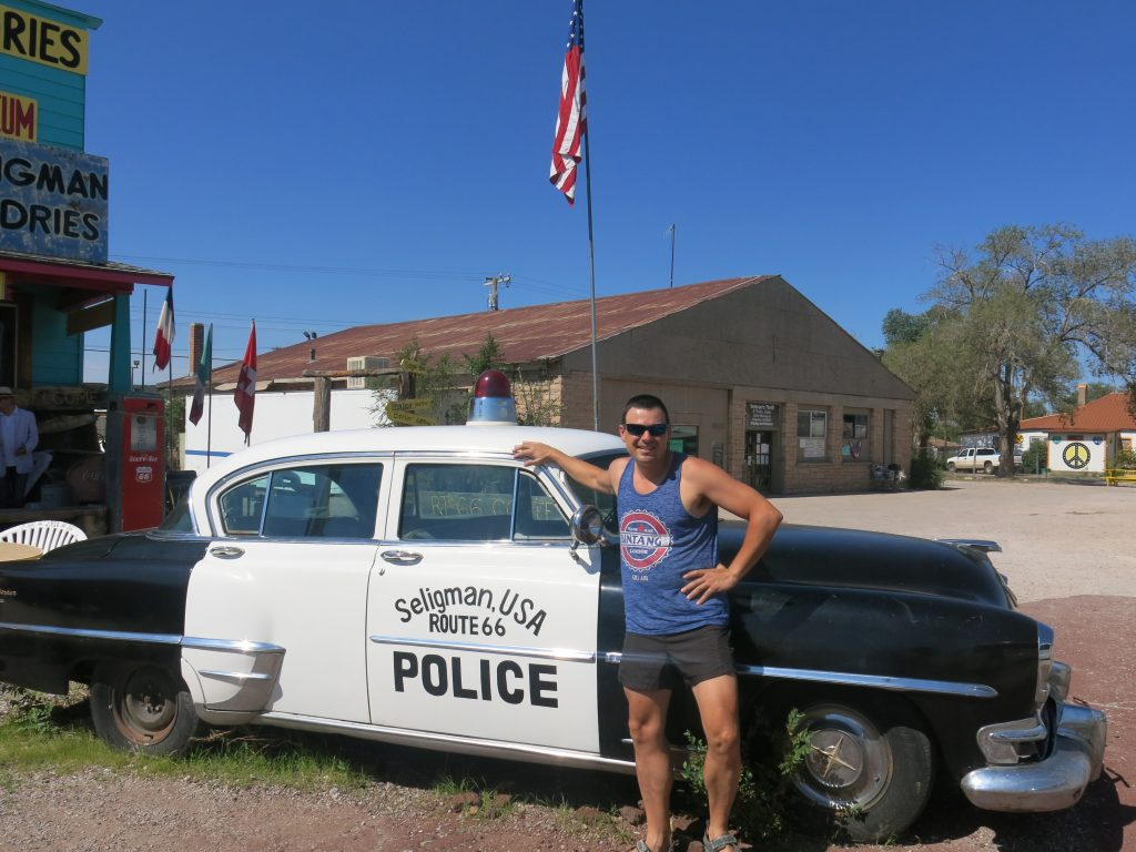 SELIGMAN ROUTE 66 COSTA OESTE USA